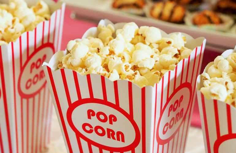 Essen-Snack-Popcorn-Kino