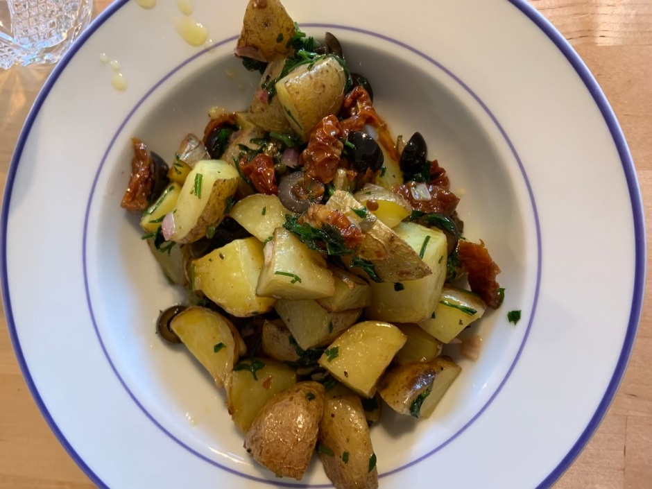 gegrillter Kartoffelsalat